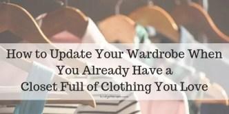 Wardrobe Update