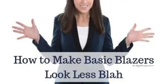 basic blazers