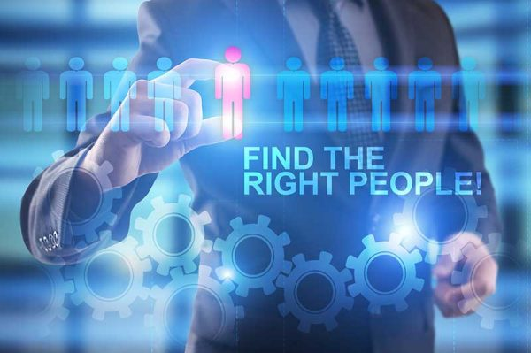 Staffing wording Find the right people