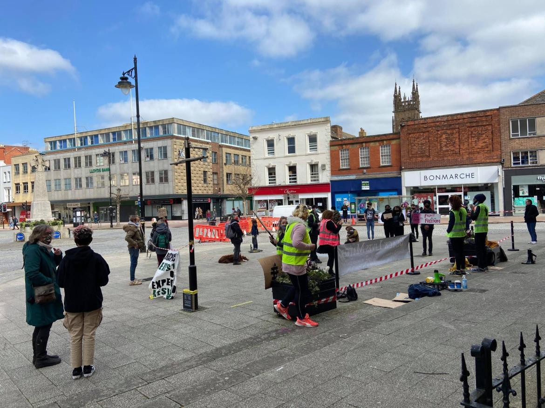 Bridgwater Mercury: PROTEST: KIll The Bill in Taunton