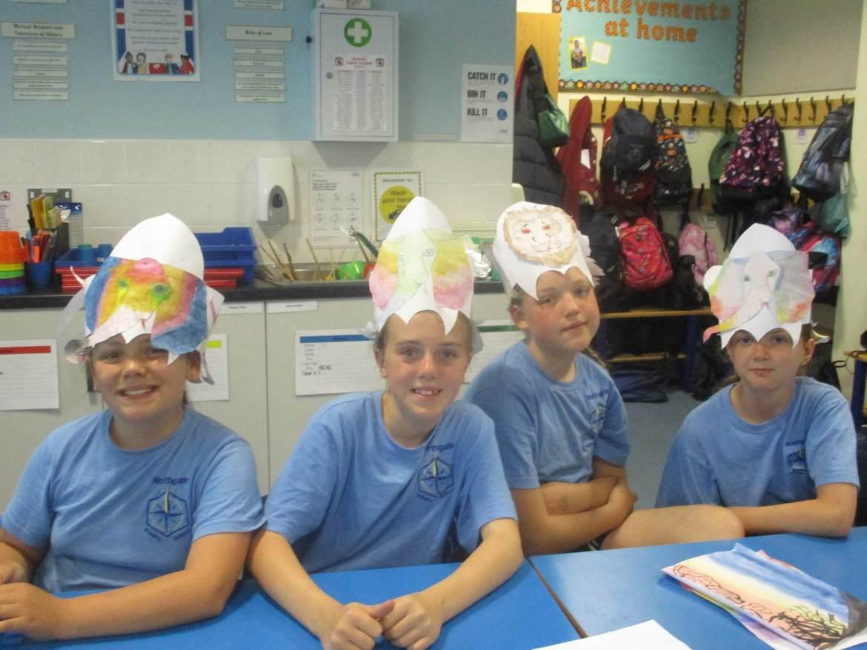 Bridgwater Mercury: Northgate Primary School pupils enjoying carnival week