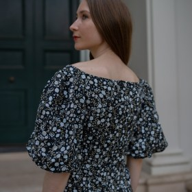 Outfit repeating, slow fashion, sustainable fashion, shona joy, linen dress, summer dresses, spring dresses, why we should be repeating out, rewear, shop your closet