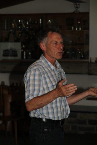 Referent Sepp Huschler, Mount Everest Besteiger, Hüttenwart im Brisenhaus