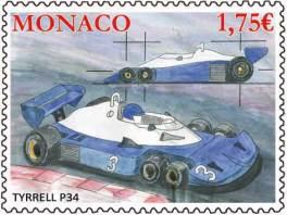 Formel-1-Auto mit sechs Reifen – ja, sowas gab es wirklich mal.