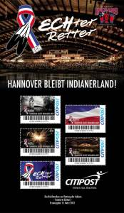 Hannover Indians Schmuckbogen.