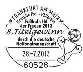 Diesen Stempel wird es nur geben, wenn Deutschland das Turnier gewinnt.