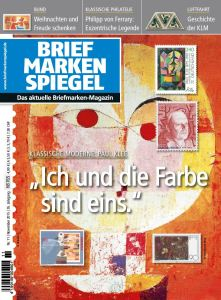 BRIEFMARKEN SPIEGEL November 2015