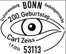 Stempel Carl Zeiss