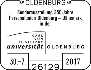 Sonderstempel Universität Oldenburg