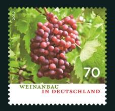 Wein Probe Lese Deutschland Briefmarken Spiegel