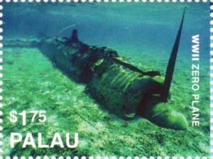 Palau 2017 World War II Zero Plane