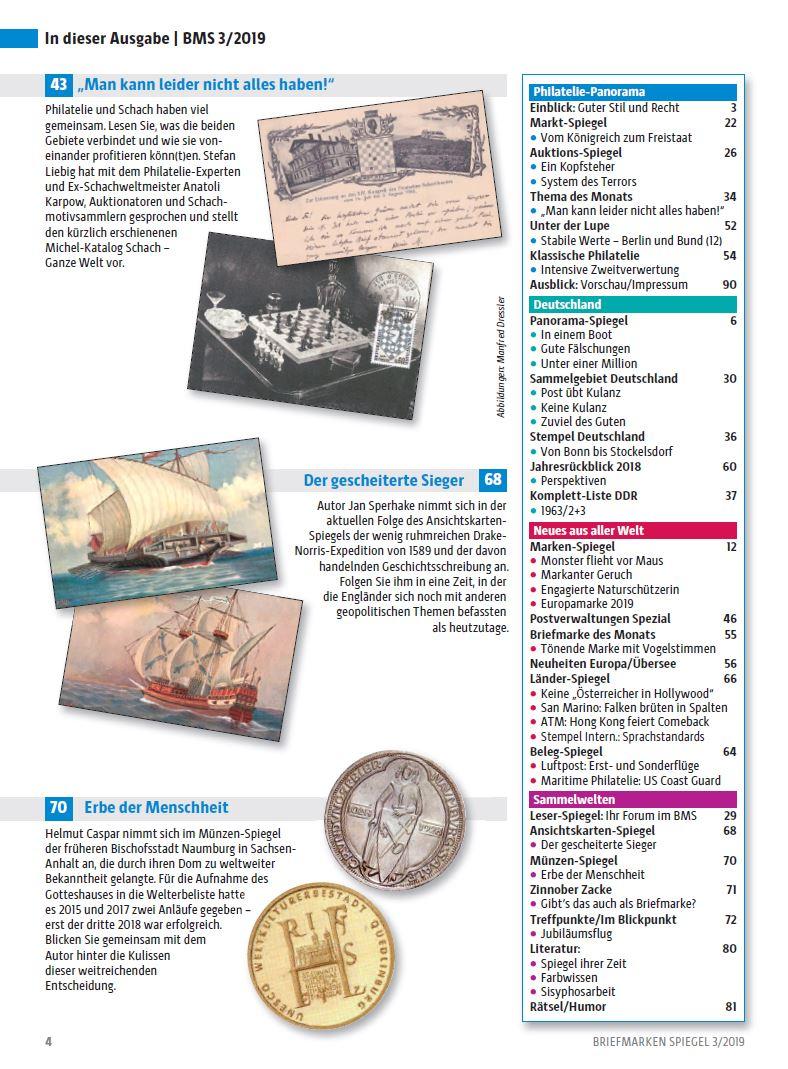 Briefmarken Spiegel Schach Karpow Weltmeister England UNESCO I
