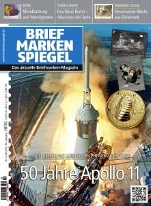 Briefmarken Spiegel 7-2019 Apollo 11 Mondlandung Raumfahrt Armstrong
