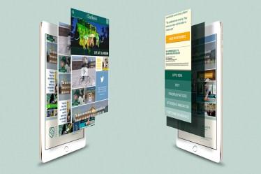 Student Life visual design comp