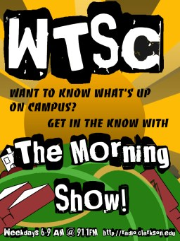 poster for the wtsc morning show