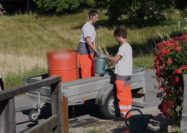Projet TMS : Le Sauze du lac le ARROSAGE