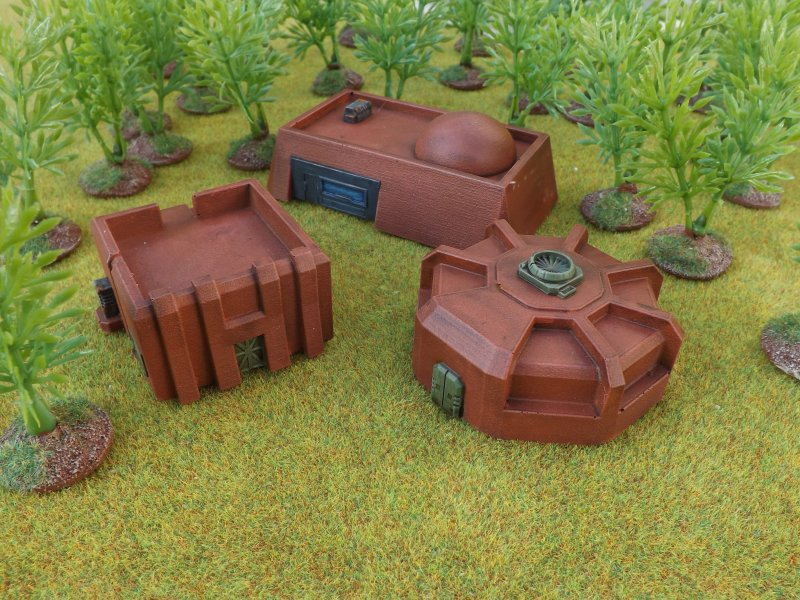 More 10mm Buildings – Brigade Models