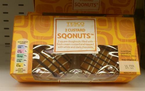 Tesco's Sqonuts