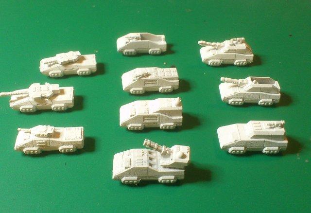 Indonesian Republic tanks