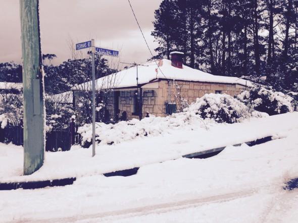 Snow at Brigadoon