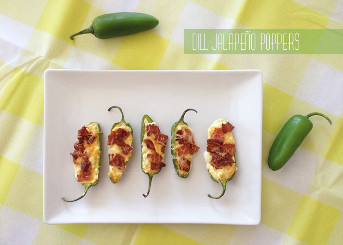 Dill Jalapeno Poppers yellow