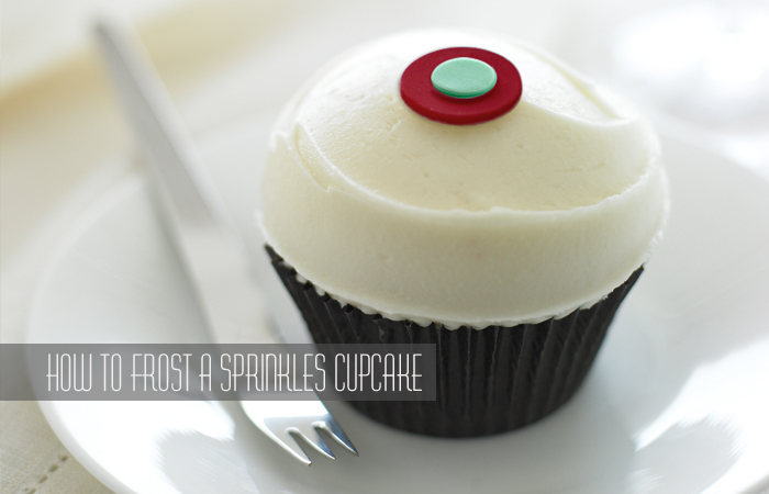 How to Frost a Sprinkles Cupcake