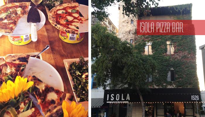 Isola Pizza Bar Turns 1
