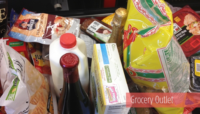 Groceries from Grocery Outlet