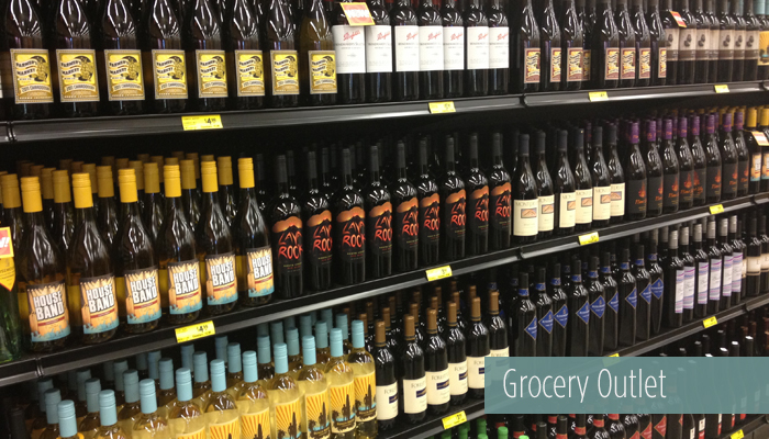 grocery outlet wines!!