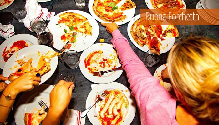 Buona Forchetta Pizzas
