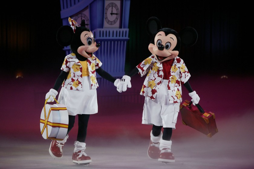 Minnie Mouse and Mickey Mouse come to San Diego