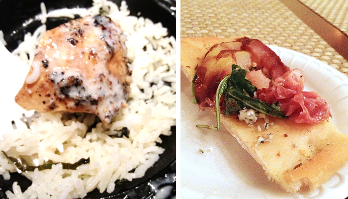 Taste of Downtown San Diego | Samples from Henry's Pub & Urban