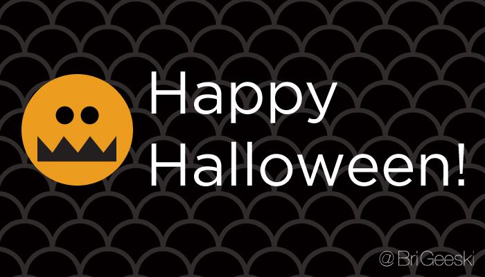 Happy Halloween via @brigeeski