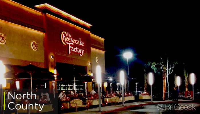 The Cheesecake Factory opens at Westfield North County November 26, 2013.