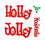 #HollyJollyMocktails