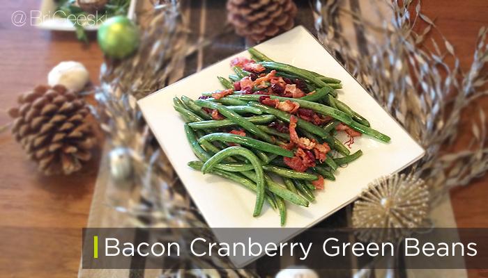 bacon cranberry grean beans. Smart & Final #shop