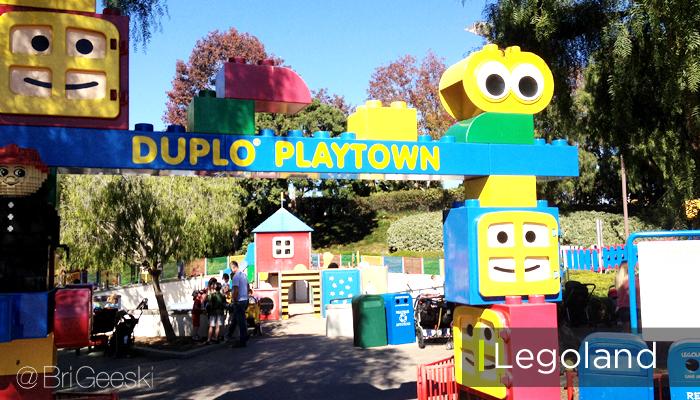 Duplo Playtown at Legoland California