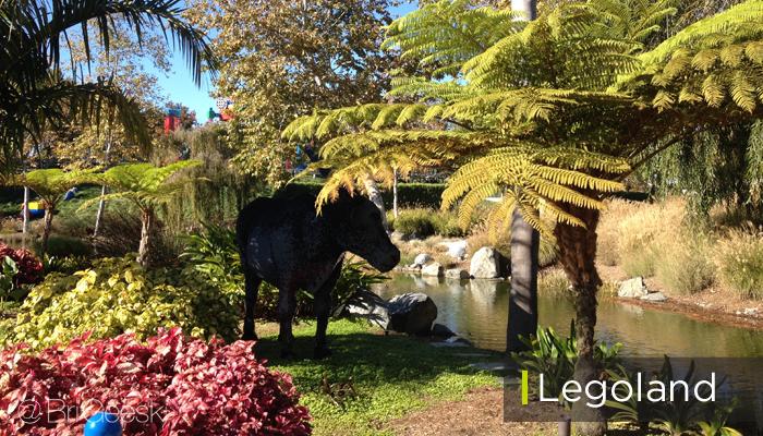 Lego Bull at Legoland California