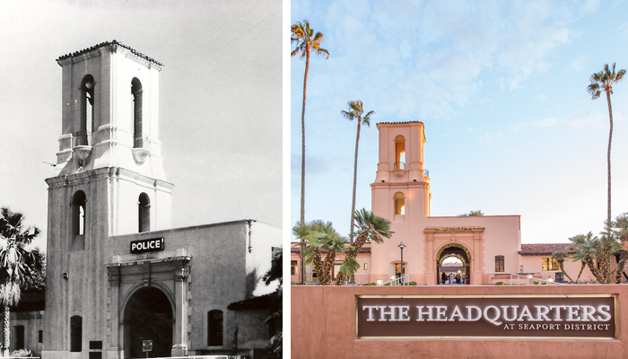 The Headquarters, San Diego - Previous Police Headquarters