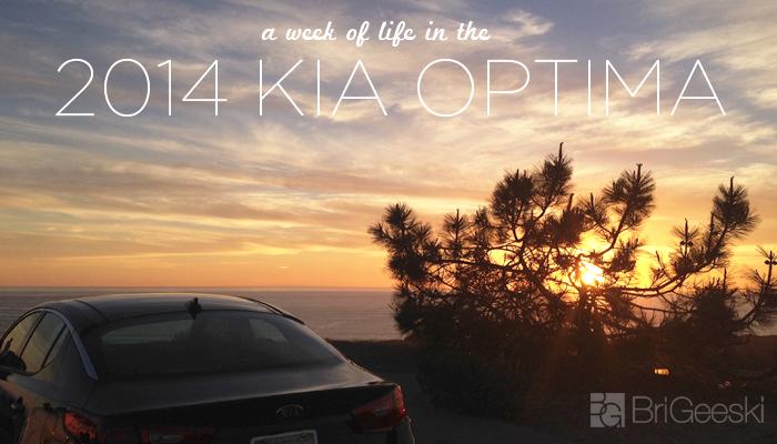 A Week of Life in the 2014 Kia Optima