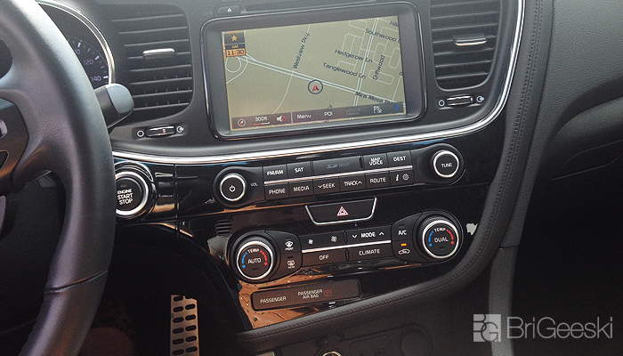 Kia Optima, Navigation