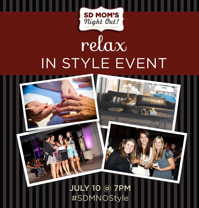 Relax in Style Event at BoConcept with SD Mom's Night Out