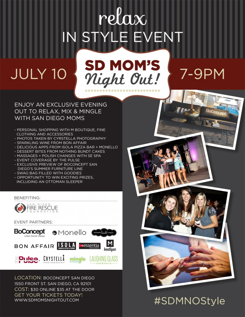 SD Mom's Night Out Relax in Style Event