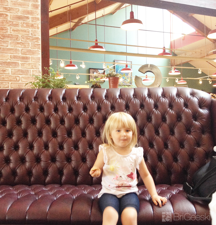 Cafe Cantata couch