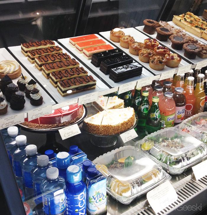 Cafe Cantata desserts