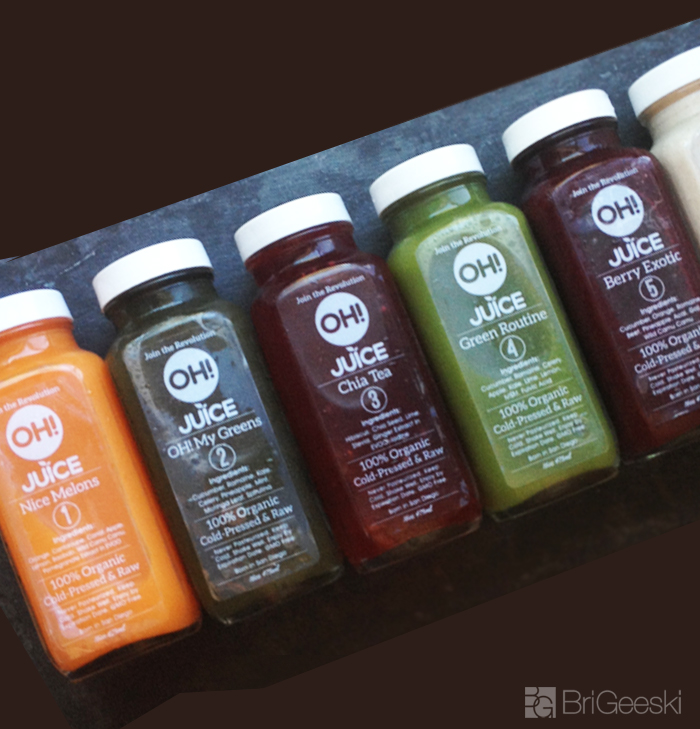 OH! juice cleanse