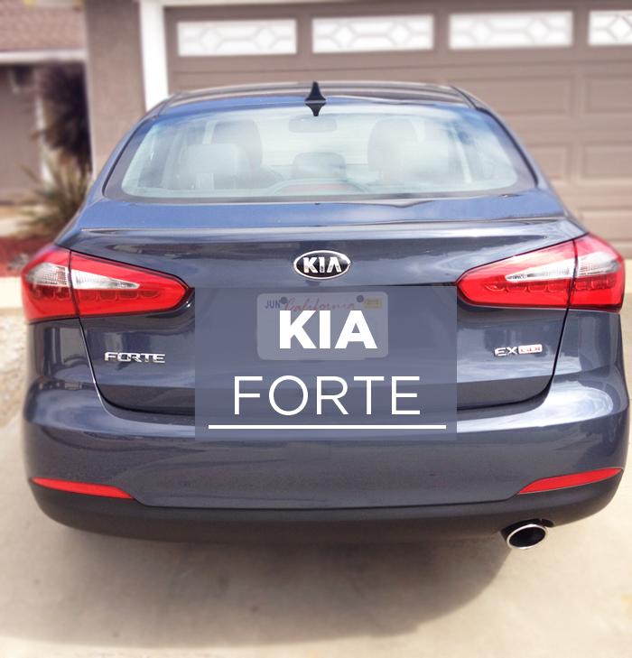 A drive to #FreshSummit in the Kia Forte