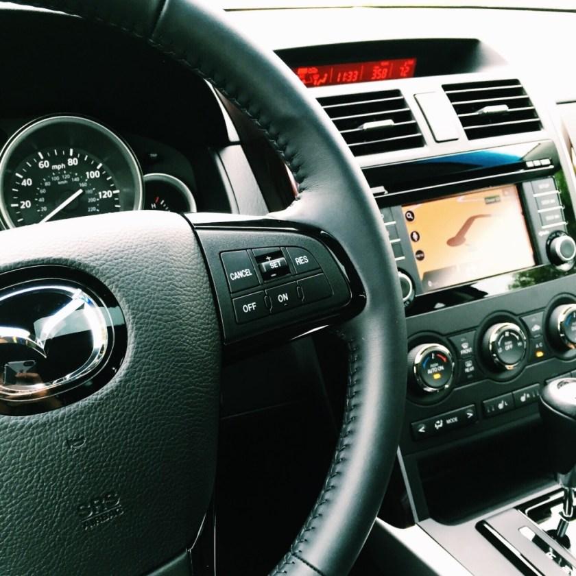 Mazda interior