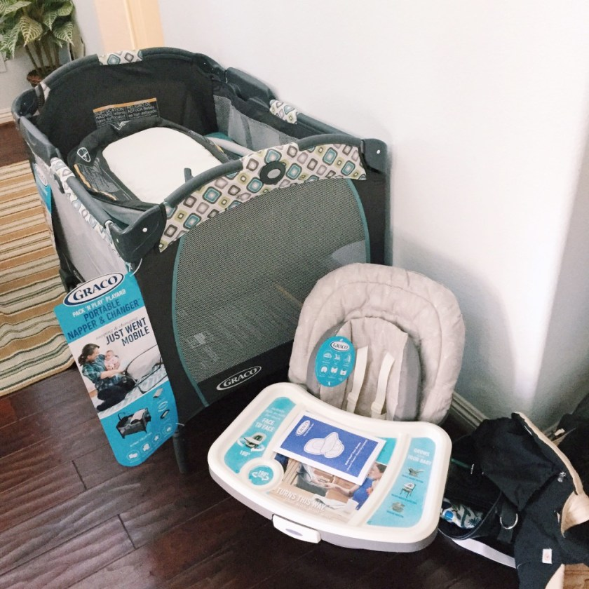 Graco Pack n Play and Chair