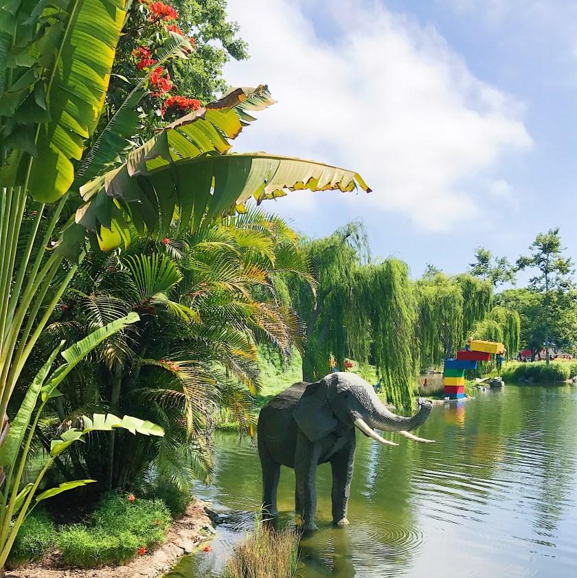 Lego made elephant